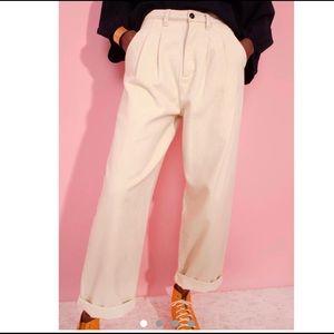 L.F. Markey Ivory Slacks Women's size US 10